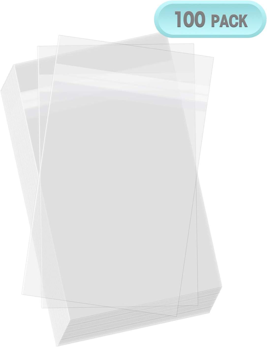 Clear Self Seal Cellophane Florist Card Bags Envelopes Various Sizes