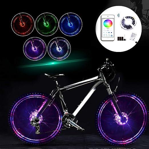 Compra InueINND Luz LED para Bicicleta con Forma de Flor, con ...