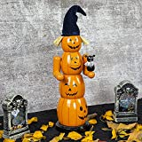FUNPENY Fall Halloween Decorations, 14 Inch Wooden