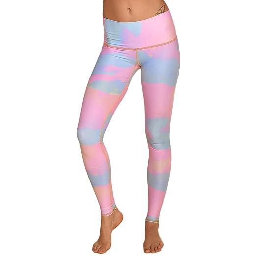 a17360ff6039a Amazon.com: Teeki New Moon Rainbow Hot Pant Yoga Leggings (Small ...
