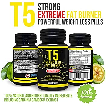 Amazon.com: T5 Fat Burners : Scientifically Backed Diet
