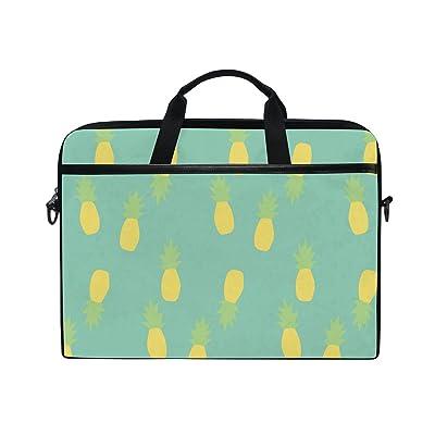 AHOMY Pineapples Fruit 15 Inch Laptop Shoulder Sleeve Messenger Bag Case