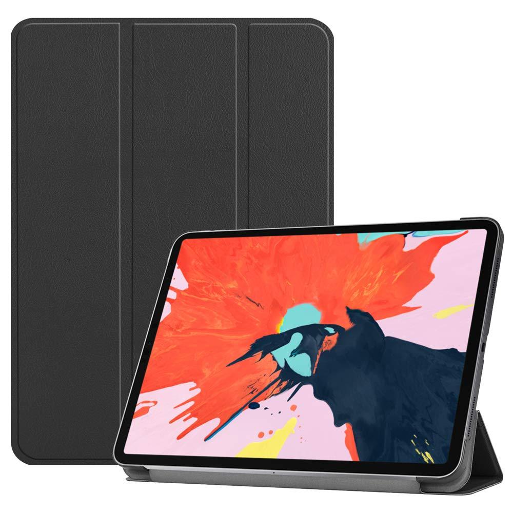 【送料無料/即納】  TOTOOSE iPad TOTOOSE Pro 12.9インチ 2018ケース 12.9インチ [衝撃吸収] レザーケース PUレザー キックスタンド Pro ウォレットカバー 丈夫なフリップケース 交換用 iPad Pro 12.9インチ 2018用 ブラック B07KS9VPD1, イワクニシ:70e2dba5 --- a0267596.xsph.ru