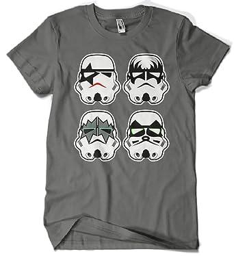 Camisetas La Colmena, A15-Star Wars - Kiss Stromtrooper: Amazon.es: Ropa y accesorios