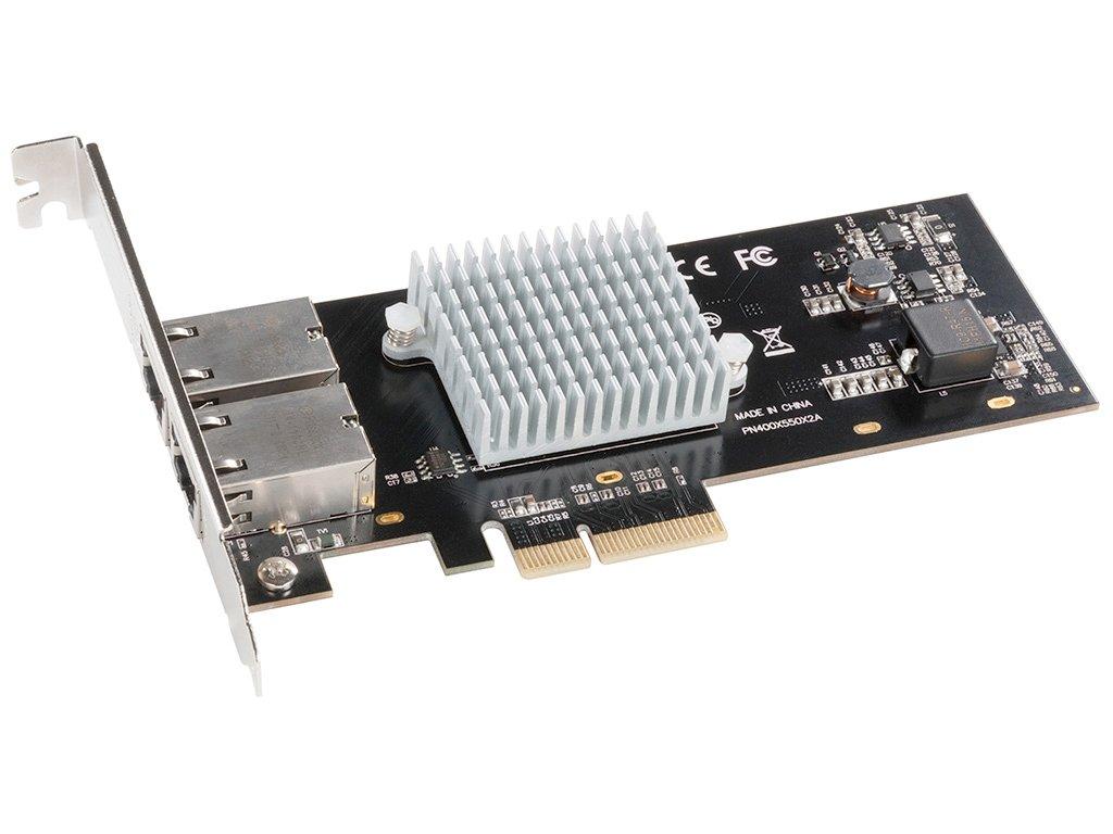 Sonnet Presto 10GbEBase-T Network Adapter Gray (G10E-2X-E3)