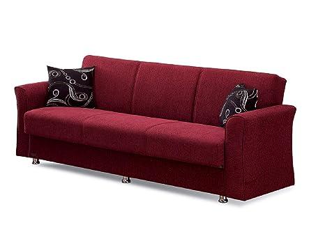 Amazon.com: BEYAN Ohio Collection Convertible Folding Sofa ...