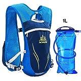 AONIJIE Mochila de hidratación para Senderismo, Ciclismo, Running, Carreras, Chaleco de hidratación DE 5,5 l