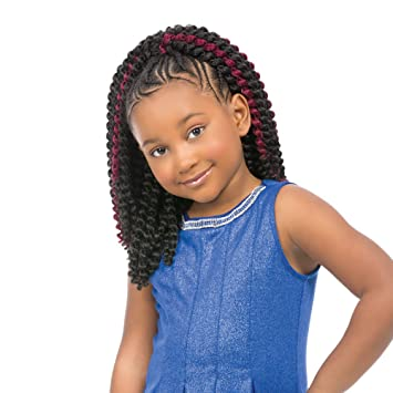 Amazon Com Sensationnel Baby Cozy 12 For Kids And Up Crochet Synthetic Braiding Hair 1 Beauty