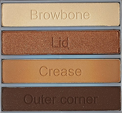 Cargo Essential Eye Shadow Palette, Bronze