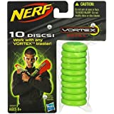 Nerf Vortex Refills 10 discs- Green by Nerf [並行輸入品]