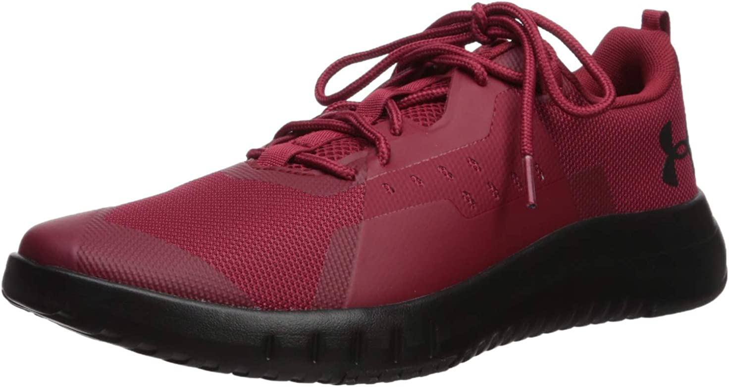 under armour red sneakers