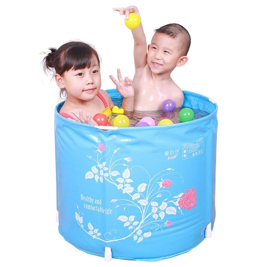 FEI Badewanne frei aufblasbare Faltbare Badewanne Badewanne Wanne Verdickung Kunststoff Baby Badewanne Kinder Badewanne