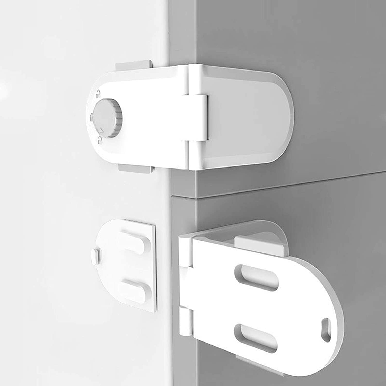 1-5Pcs KIDS CHILD TODLER BABY SAFETY CABINET DOOR FRIDGE DRAWER CUPBOARD LOCK