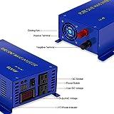 XYZ INVT 600w 12v to 120v Pure Sine Wave Solar