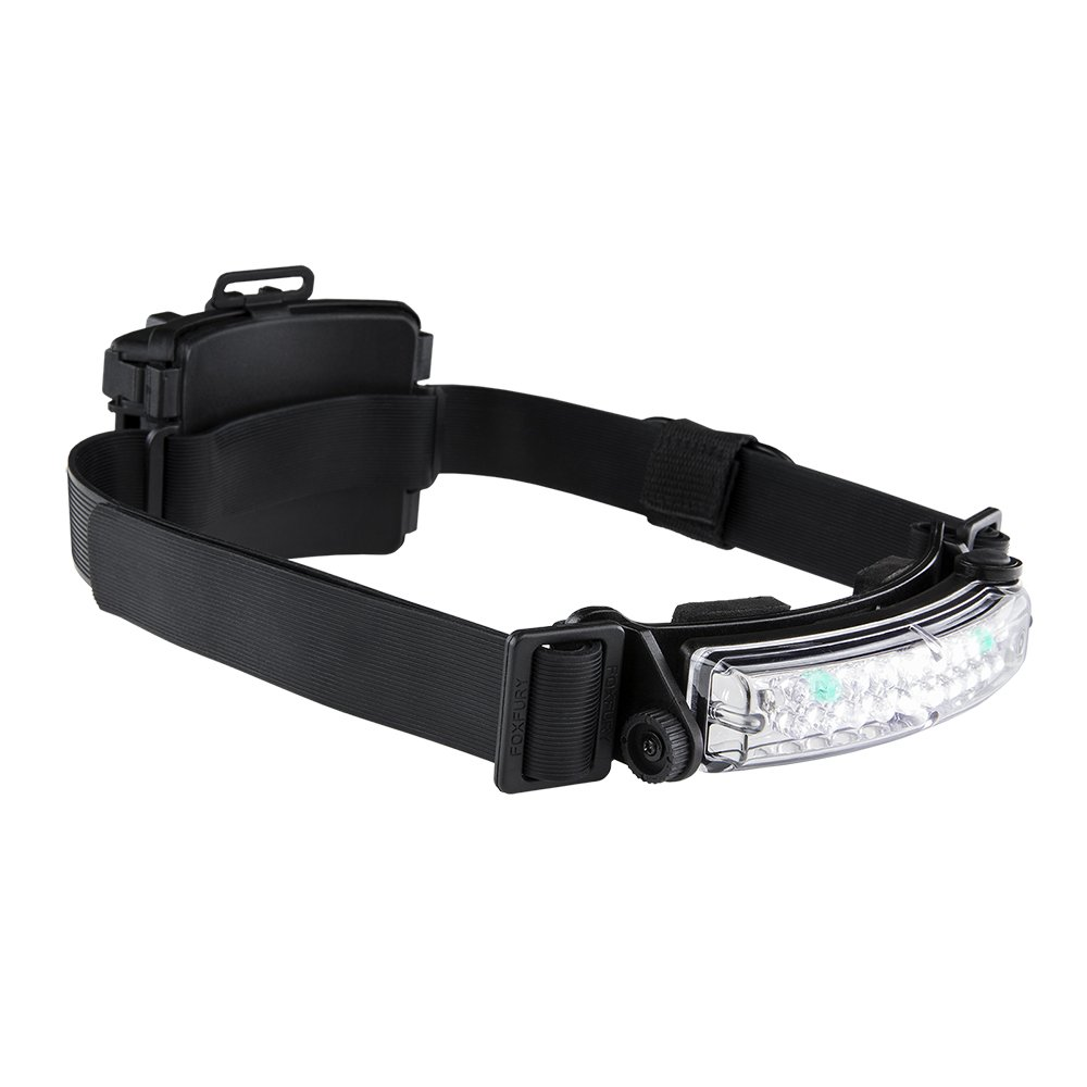 Tilt Fire and Impact Resistant Waterproof White//Amber LED Headlamp//Helmet Light FoxFury 420-T15 Command 100 Lumens
