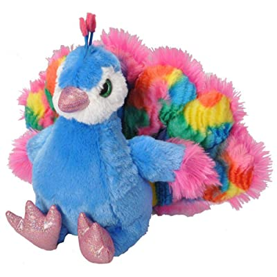 Wild Republic Peacock Plush, Stuffed Animal, Plush Toy, Gifts for Kids, Sweet & Sassy 12 Inches: Toys & Games