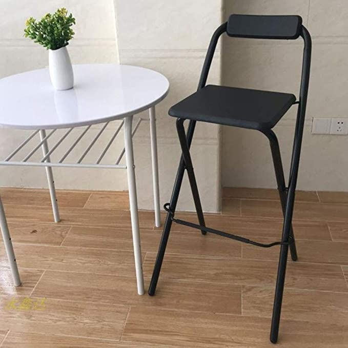 Amazon.com: Youyouxiu Taburetes de bar plegables, sillas de ...