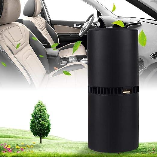LayOPO Purificador de aire para coche, purificador de aire ...