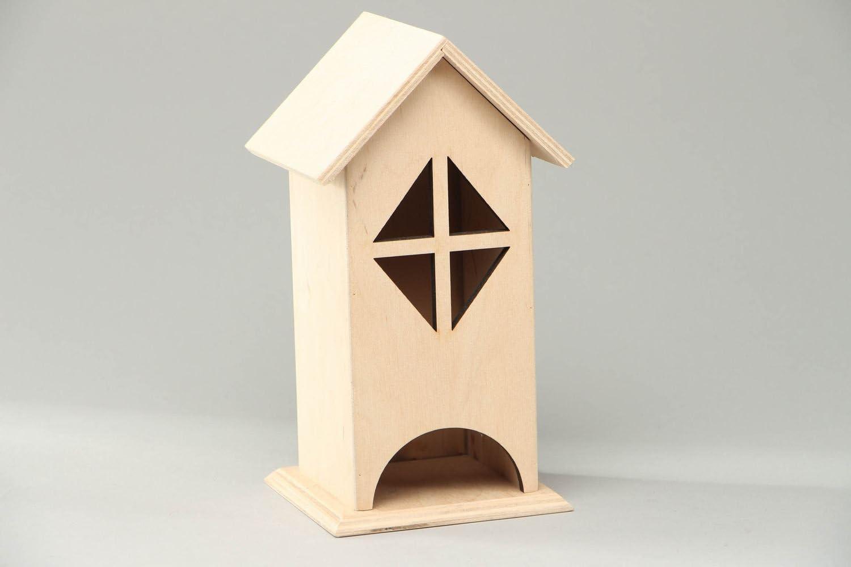 Caja de madera para decorar una casita de te: Amazon.es: Hogar