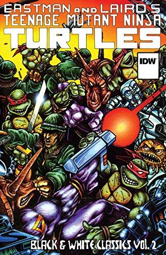 ninja turtles black white - 6
