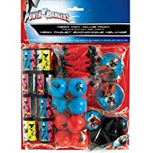 Power Rangers 'Ninja Steel' Favor Pack (48 count) Birthday Party Supplies