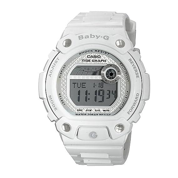 e2eab6925d4c0 Casio Women s Baby-G BLX100-7 White Resin Quartz Watch  Casio  Amazon.ca   Watches