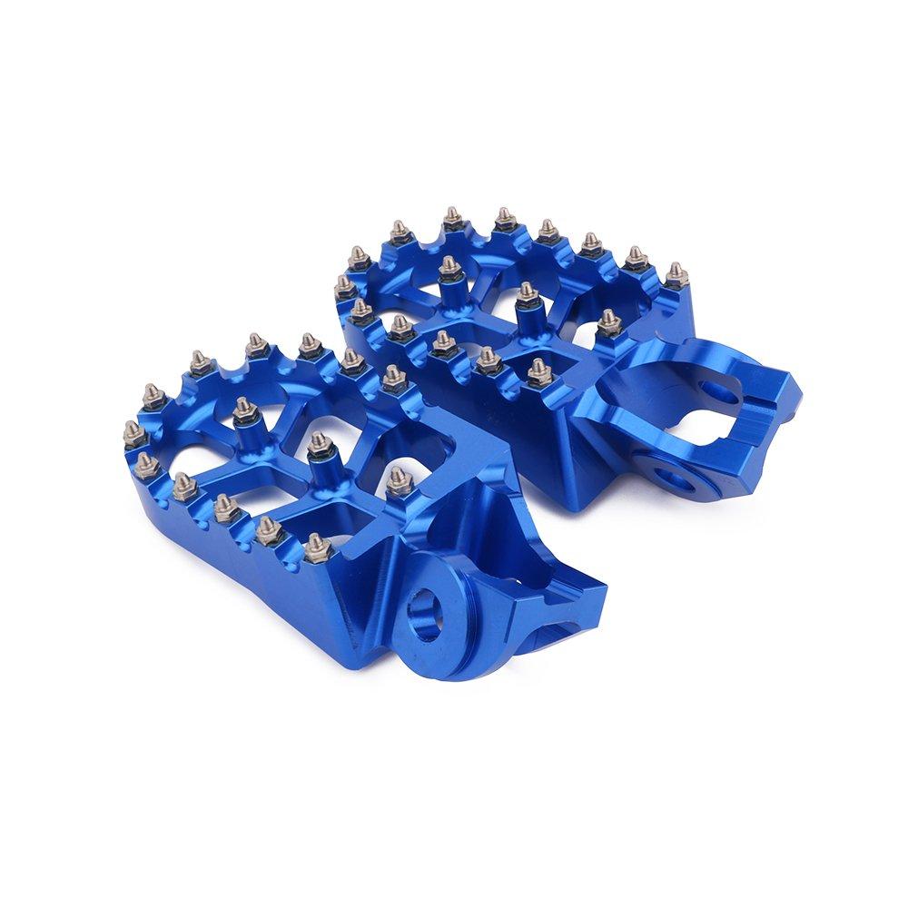 Moto CNC MX Foot Pegs Footpegs Rest Pedales para KTM 85 125 150 250 300 350 450 530 SX-F EXC EXC-F XC-F XC-W Naranja