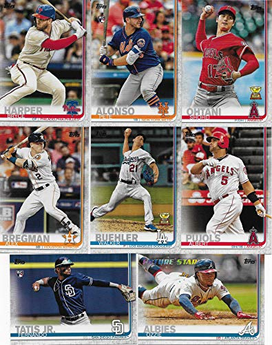 (2019 Topps MLB Baseball Series Complete Mint Hand Collated 700 Card Set LOADED with Stars and Rookie Cards Including Aaron Judge, Mookie Betts, Ronald Acuna, Pete Alonso, Vladimir Guerrero Jr and Many Others)