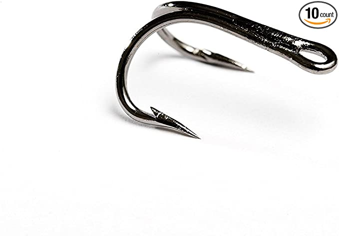 Loop Double Salmon Hooks Size 4 New in Box
