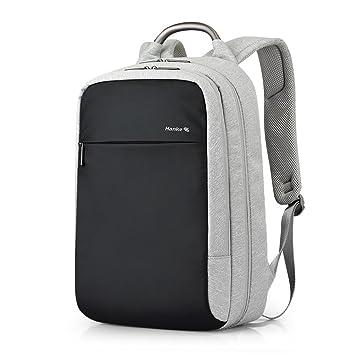 Mochila de Viaje para Ordenador portátil, con Bloqueo de código y Bloqueo RFID de Bloqueo de la Funda para Maleta expandible para Mochila de 15,6 Pulgadas ...