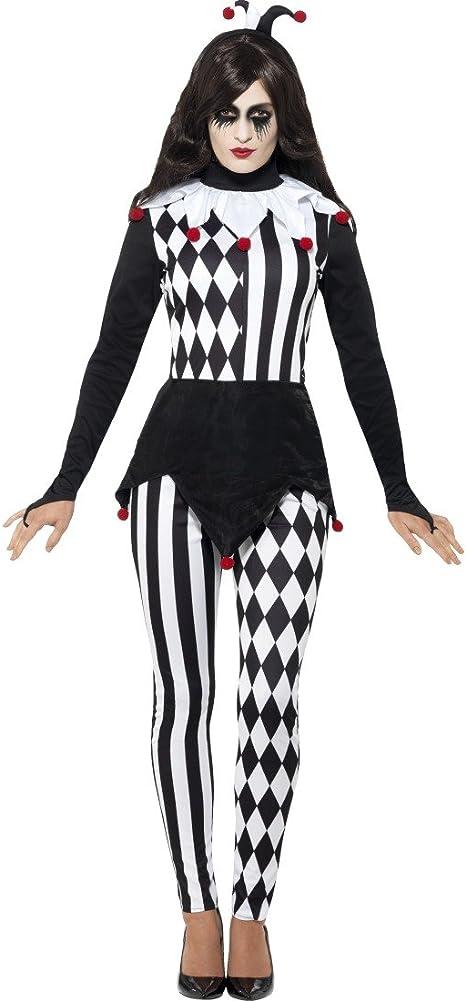 NET TOYS Disfraz Mujer Arlequín - S (ES 36/38) | Traje Dama ...