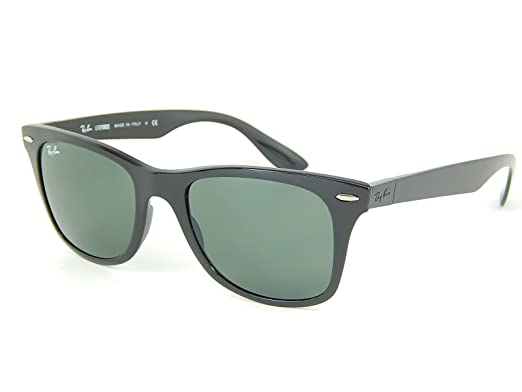 94041851bc1 Image Unavailable. Image not available for. Colour  Ray Ban Liteforce  RB4195 601 71 Black Green Classic 52mm Sunglasses