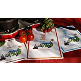 Camping For Foodies Flexible Cutting Mats With Retro RV Camper Trailer Theme Design, Set of 3. Fun Message. Camp, Hike, Cook, Drink, Eat, Repeat.