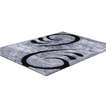 Hervorragend CYALZ Polyester Blau Grau Schwarz Blumenmuster Modern Einfach  Stripe Style Home Textilien Türsprechanlage Badezimmer Küche