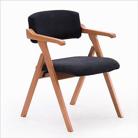 Amazon.com: Plegar sillas casa simple portátil plegable de ...