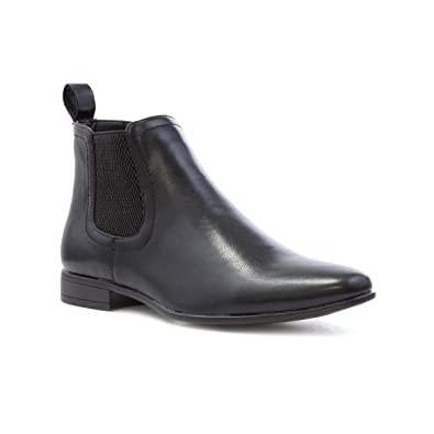 e0ca129ded22 Beckett Mens Black Chelsea Style Boot  Amazon.co.uk  Shoes   Bags