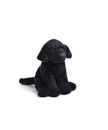 f5c553b18a5d DEMDACO Little Black Labrador Children's Plush Beanbag Stuffed Animal Toy