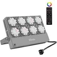 SGLEDs 50W Outdoor RGB Color Changing Flood Light
