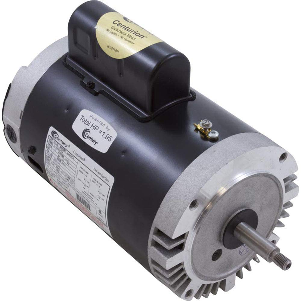 A.O. Smith Magnatek Threaded Shaft FR 1.5 HP Motor B129