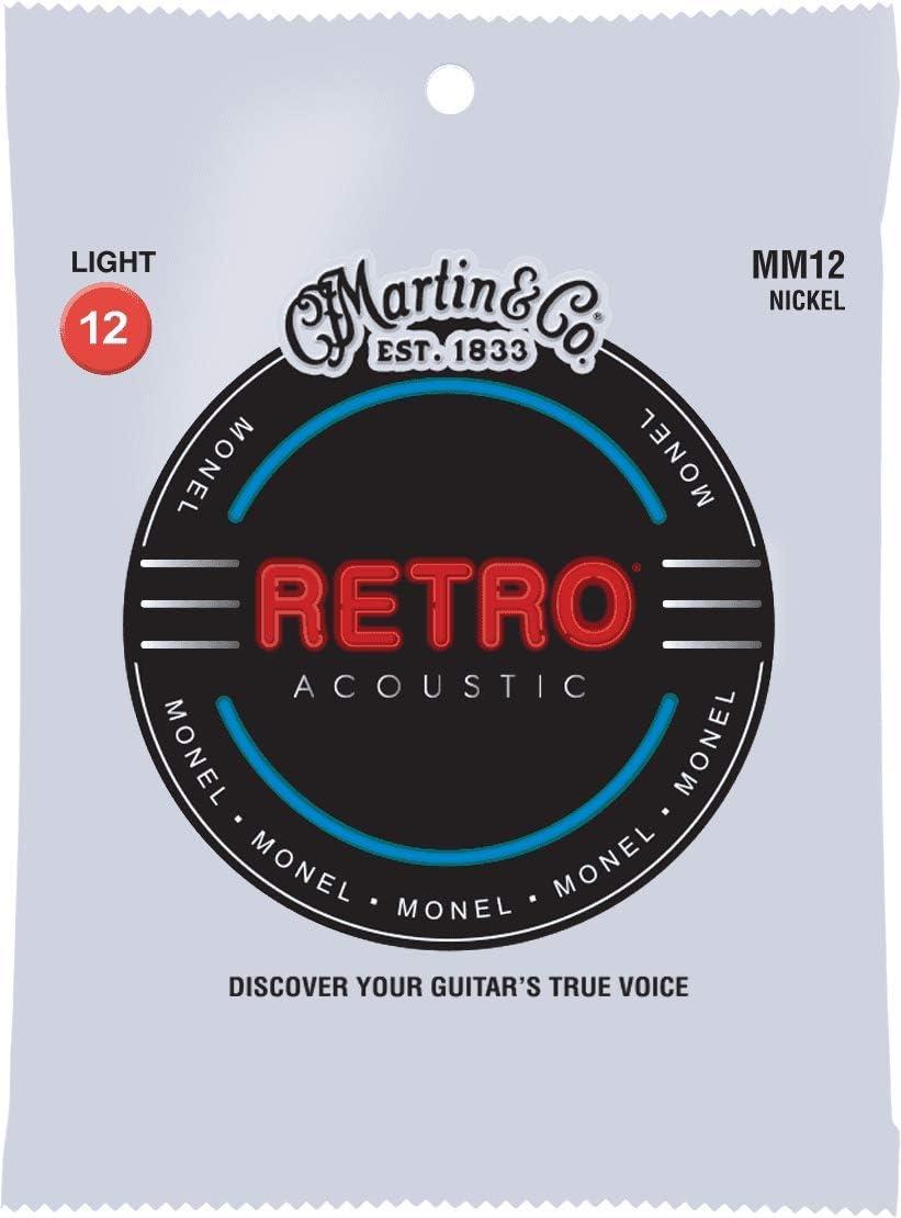 C. F. Martin mm de 12Retro Cuerdas para guitarra acústica