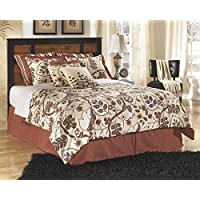 Aimwell Dark Brown Queen/Full Panel Headboard