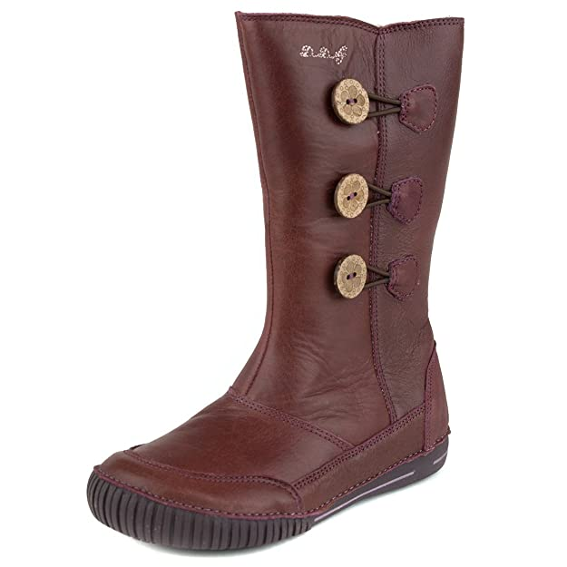 D.D. Step insulated girls' boots, genuine leather, red, little kid and big  kid size (036-8A): Amazon.ca: Shoes & Handbags