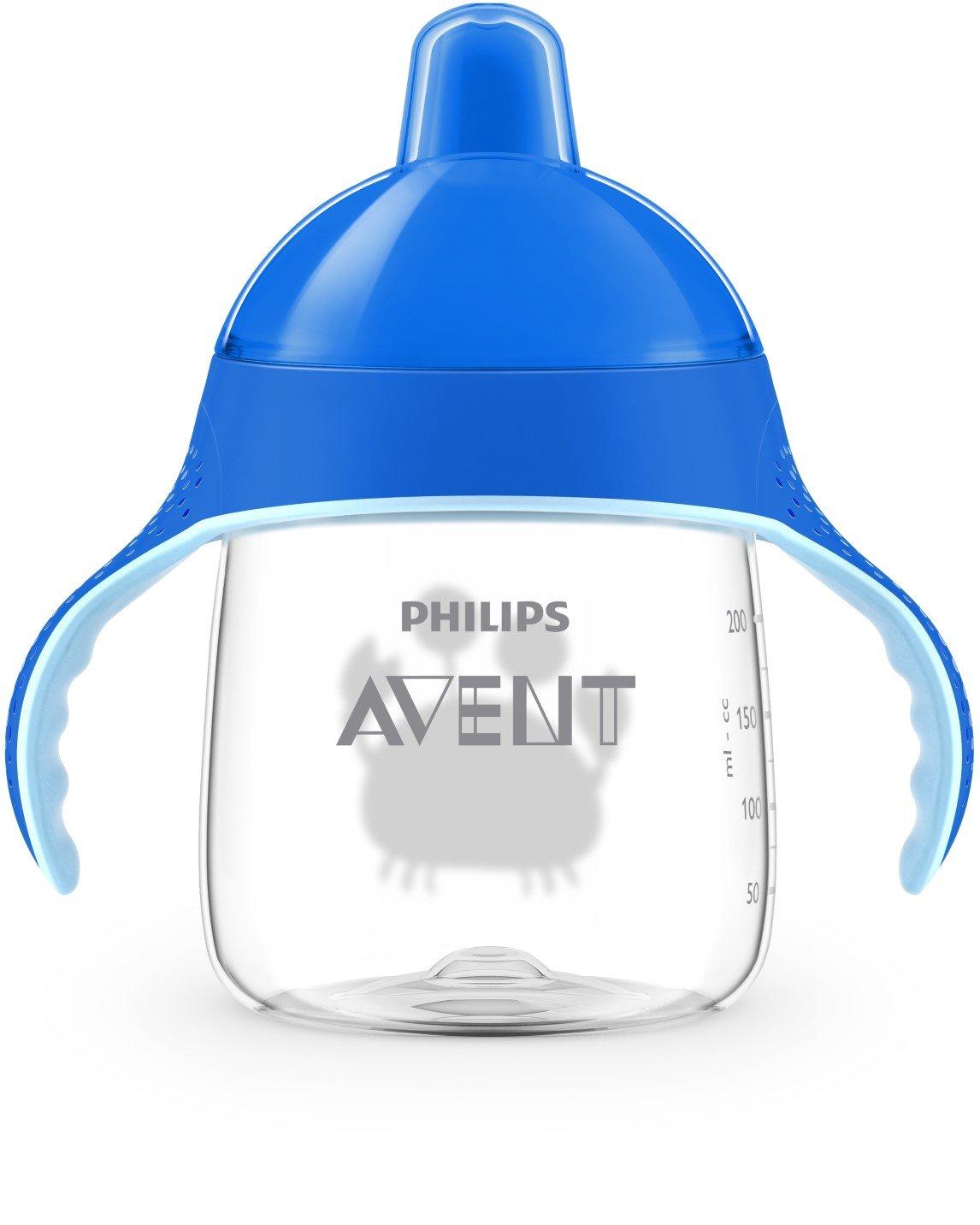 ab 18.Monat SCF755//05 bei/ßfester Trinkschnabel 340ml hellblau Philips Avent Trinklernbecher