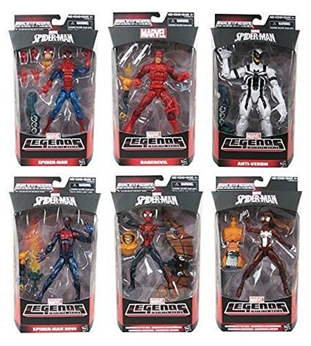 (Marvel Legends Infinite Series Spider-man Wave 2 Hobgoblin Build A Figure Complete Set (BAF))