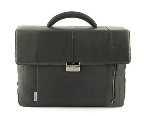 il più votato genuino stile classico qualità incredibile Borsa ufficio porta pc Roncato Flag 2202 nera: Amazon.it ...