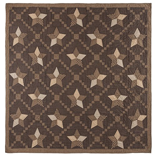VHC Brands 9838 Farmhouse Star Queen Quilt 94x94 from VHC Brands