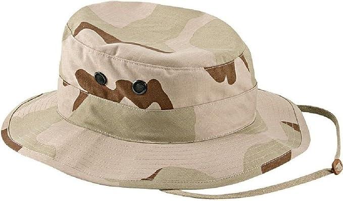 BOONIE HAT BUSH HAT DESERT 3 COLORS POLY COTTON TWILL BUCKET Size S=7