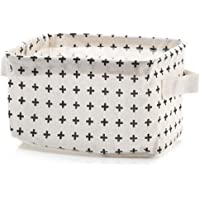 Super KD Organizing Baskets for Clothing Storage Storage Baskets Made from Eco-Friendly Cotton (Cross)