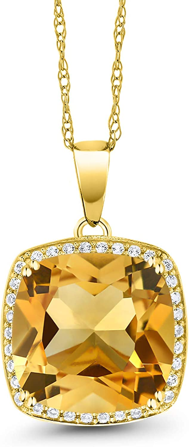 105.40 Ct Certified Beautiful  Citrine Pendant 925 Solid Sterling Silver Gemstone DS2628