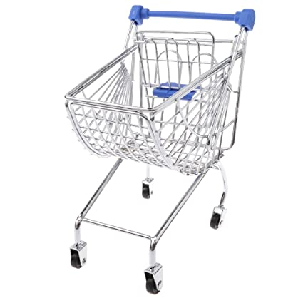 d8781e72be6a Amazon.com: Baoblaze Novelty Mini Shopping Cart Trolley Toy - Pen ...